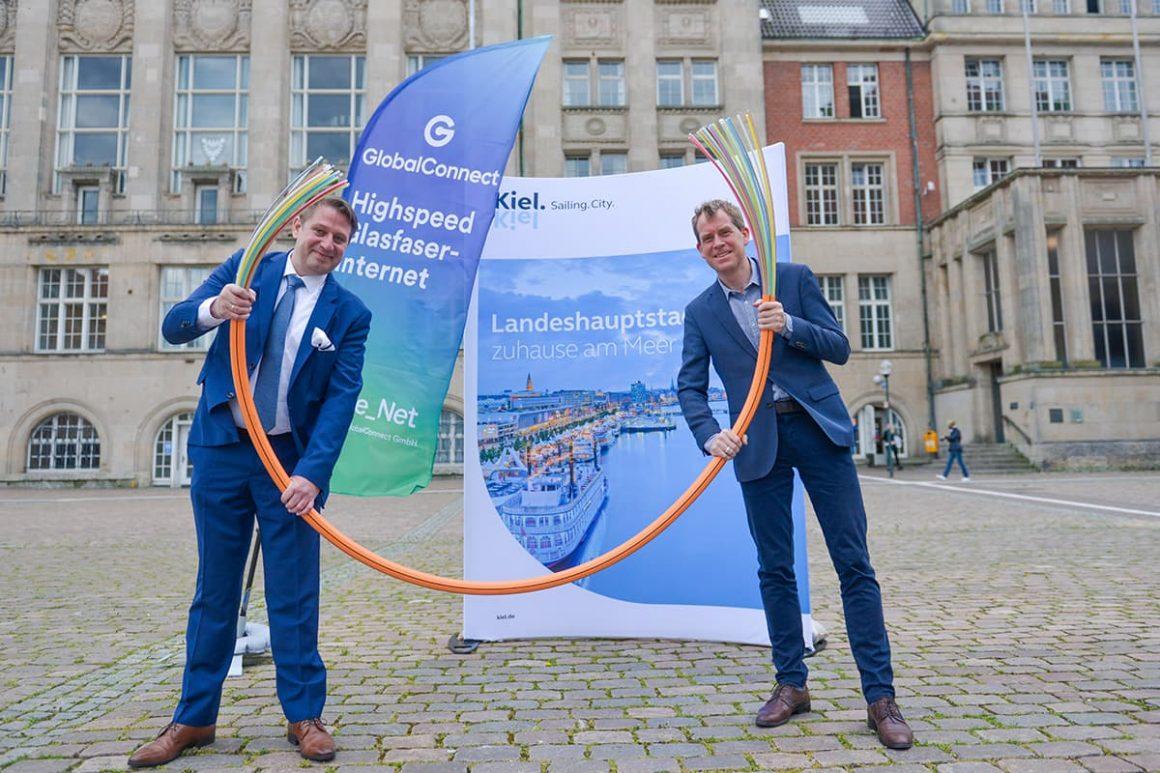 GlobalConnect treibt Glasfaserausbau in Kiel für Privatkunden voran
